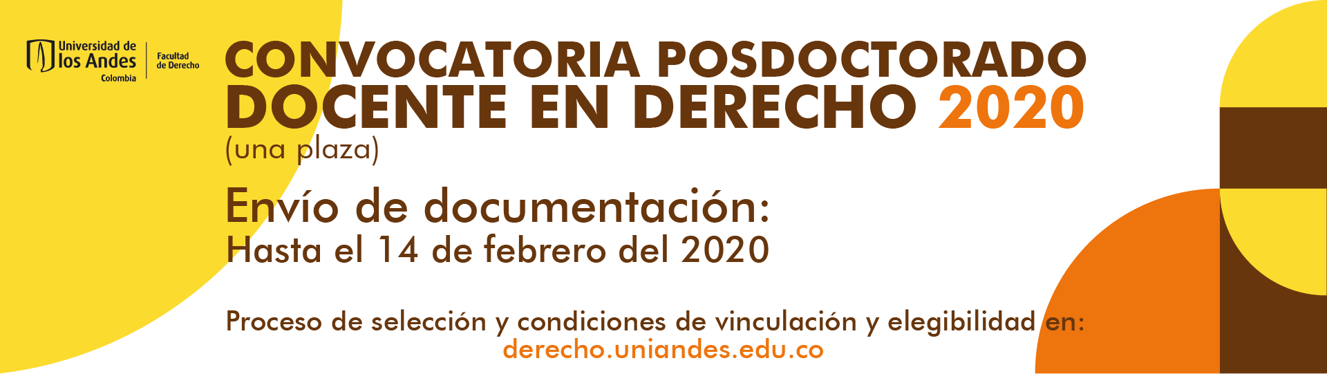 CALL FOR APPLICATION POSDOCTORAL
