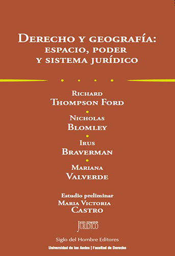 Libro Derecho y geografía: espacio, poder y sistema jurídico