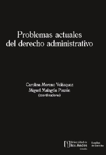 Libro Problemas actuales del derecho administrativo