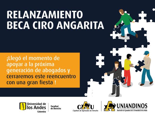 Conversatorio y coctel de relanzamiento del Fondo de la Beca Ciro Angarita