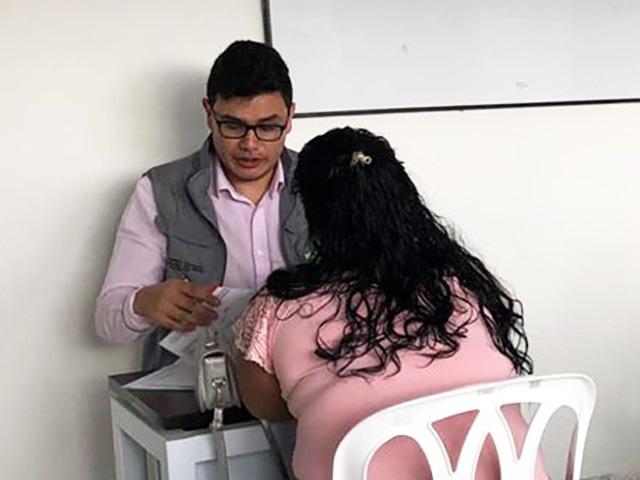 Brigada de atención a mujeres migrantes