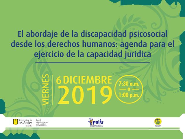 El abordaje de la discapacidad psicosocial desde los derechos humanos: agenda para el ejercicio de la capacidad jurídica