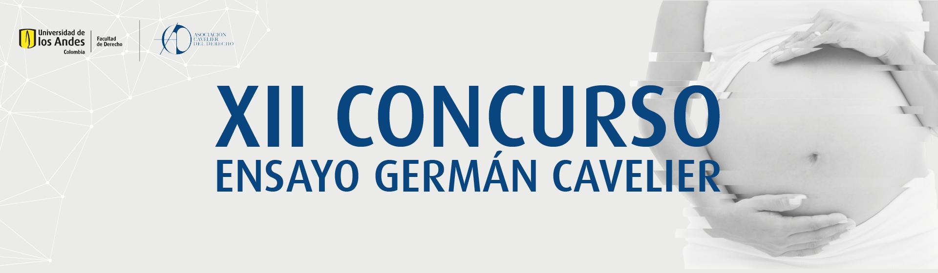 XII Concurso Ensayo Germán Cavelier | Uniandes