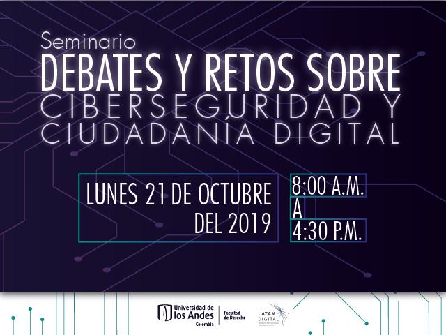 Debates y retos sobre ciberseguridad y ciudadanía digital