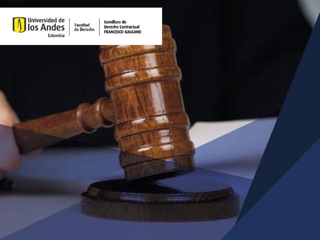 Foro   Contratos y derechos fundamentales: el impacto de la acción de tutela en el derecho contractual. Martillo del juez (mallete)