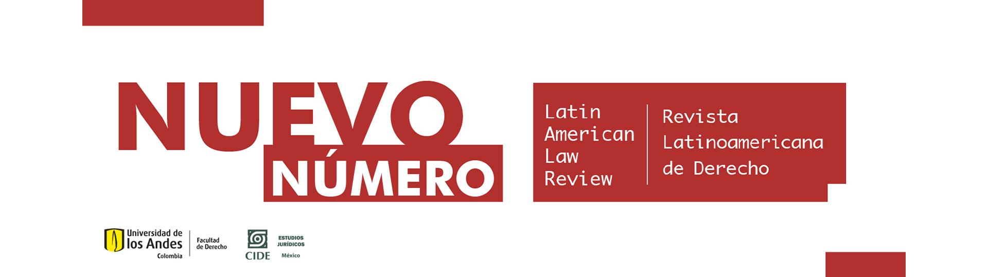 Latin American Law Review – Revista Latinoamericana de Derecho nuevo número