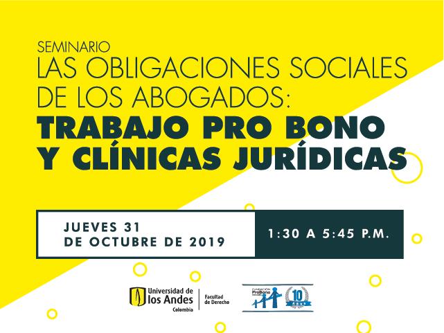 Las obligaciones sociales de los abogados: trabajo pro bono y clínicas jurídicas