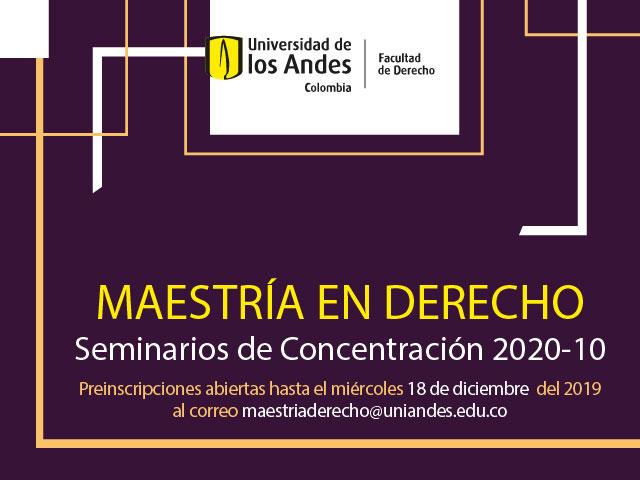 SEMINARIOS DE CONCENTRACIÓN 2020-10