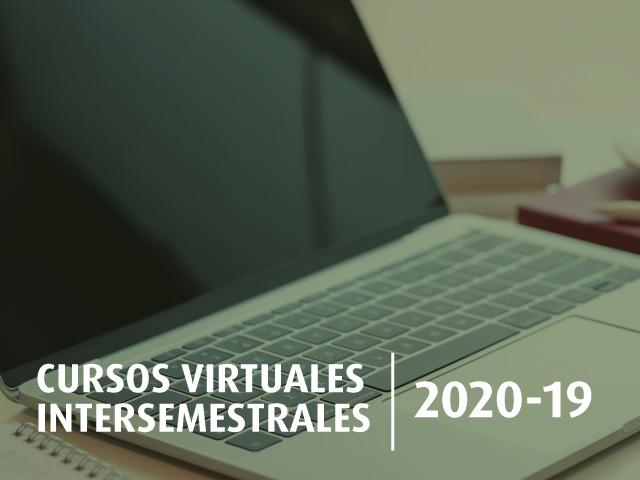 Cursos intersemestrales 2020-19