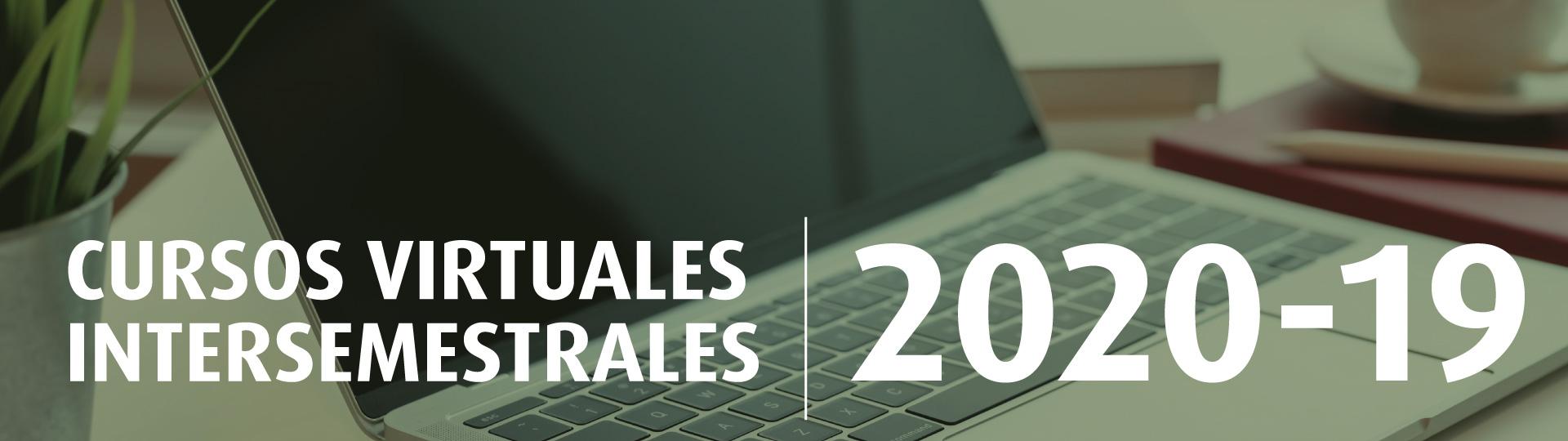 Cursos intersemestrales 2020-19 Uniandes - Derecho