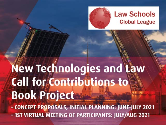 Call for Contributions to Book Project | Law Schools Global League