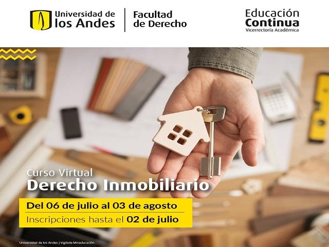 Curso Derecho Inmobiliario | Educación Continua | Uniandes