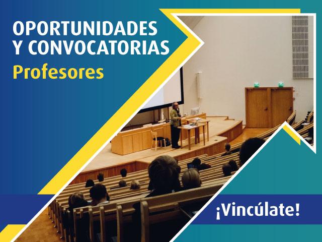Oportunidades y Convocatoria Profesores | Derecho | Uniandes