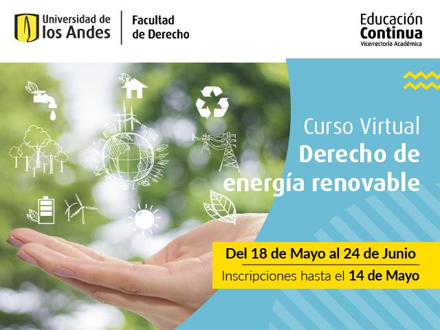 Educación Continua | Derecho de Energías Renovables | Derecho