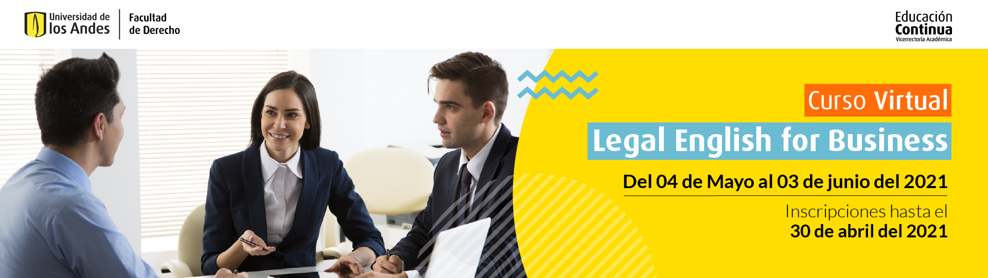 Curso Legal English for Business | Educación Continua | Uniandes