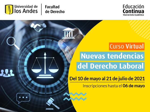 Educación Continua | Curso Nuevas Tendencias del Derecho Laboral | Derecho