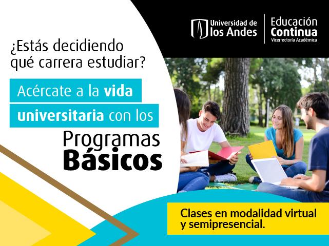 Programas básicos | Educación Continua | Uniandes