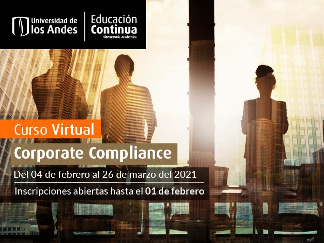 Curso Corporate Compliance - Educación Continua - Derecho - Uniandes