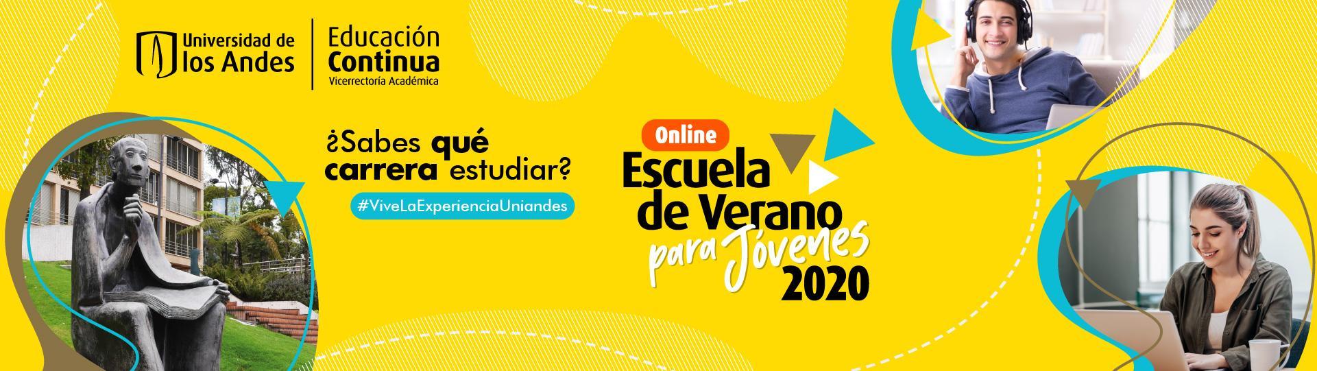 Escuela de Verano para jóvenes 2020 | Uniandes