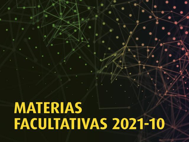 Materias Facultativas 2021-1 | Facultad de Derecho | Uniandes