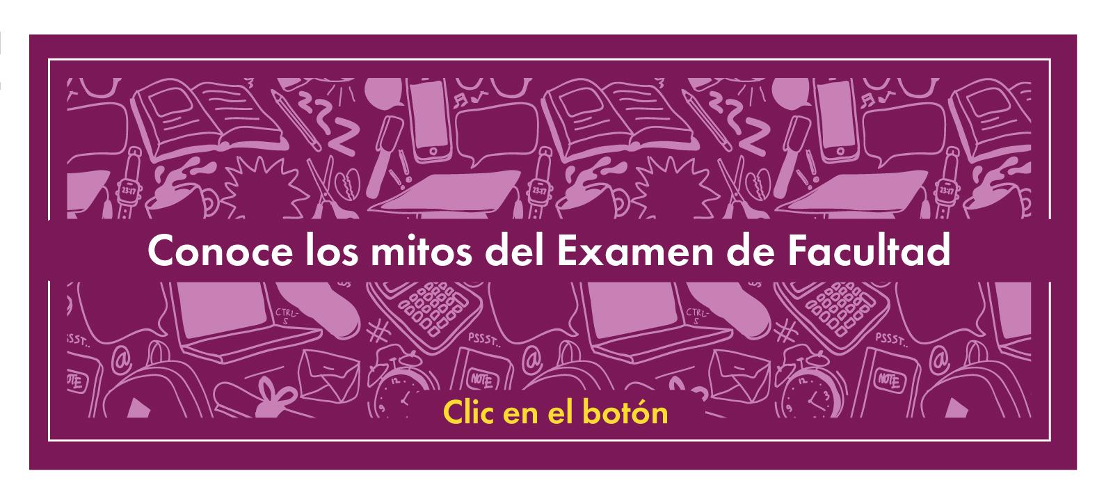 Mitos del Examen de Facultad | Facultad de Derecho | Uniandes