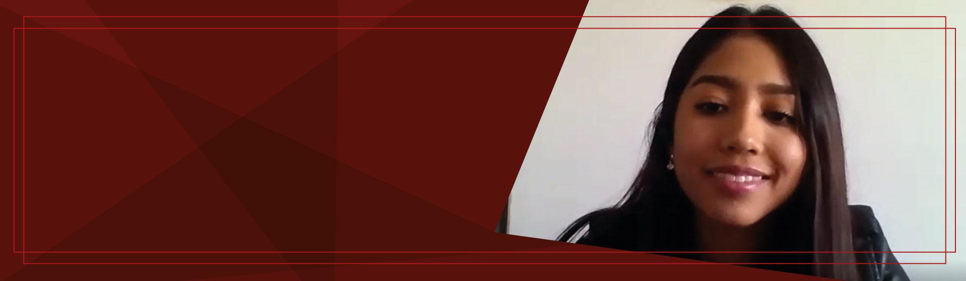 Sara Valentina Fajardo Higuera, ganadora del Concurso Ensayo y Podcast Germán Cavelier 2020-2
