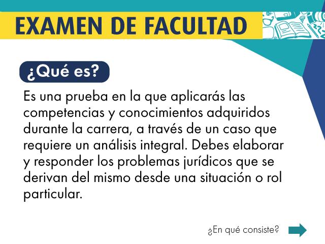 ¿Qué es el Examen de Facultad? | Facultad de Derecho | Uniandes