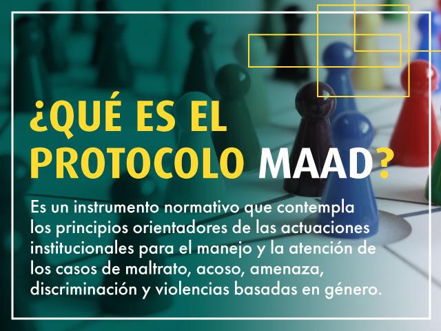 ¿Qué es Protocolo MAAD? | Uniandes