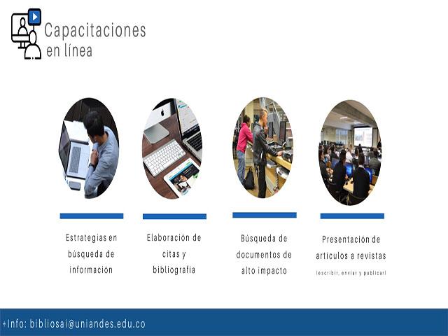 Capacitaciones en línea | Biblioteca Derecho | Uniandes