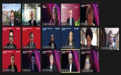 Campeones mundiales en concurso Children's Rights Moot Court 2021