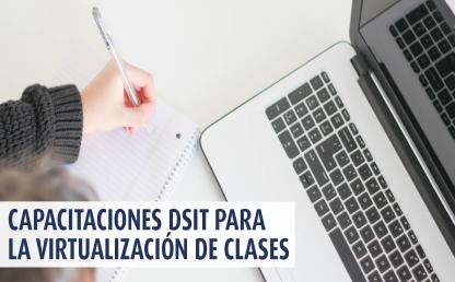 Capacitaciones DSIT durante semana de receso para personal de la Facultad de Derecho