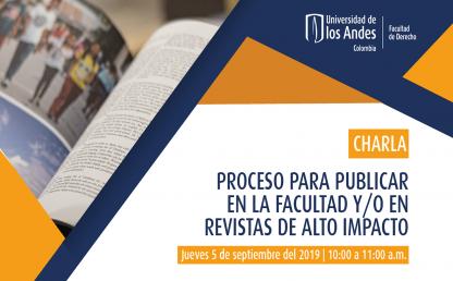Proceso para publicar en la Facultad y/o en revistas de alto impacto