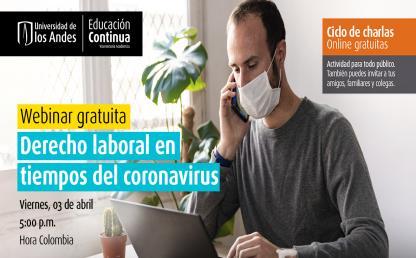 Webinar Derecho laboral en tiempos del coronavirus