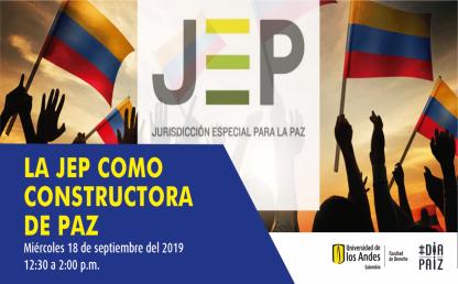 La JEP como constructora de paz