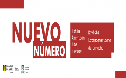 Latin American Law Review nuevo número