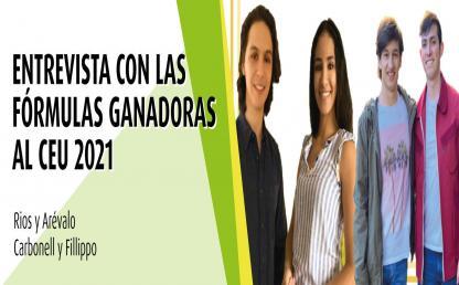 Representantes estudiantiles por la Facultad de Derecho para el año 2021