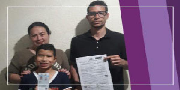 La travesía por la nacionalidad colombiana. Triunfo de 2 familias migrantes ante la Registraduría, gracias a gestión de la Clínica Jurídica para Migrantes.