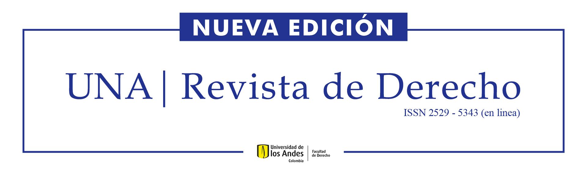 UNA Revista de Derecho edición 4